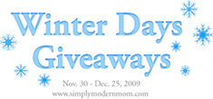 Winter Days Giveaways