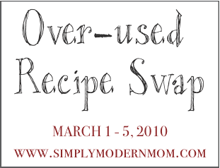 Over-used Recipes Swap