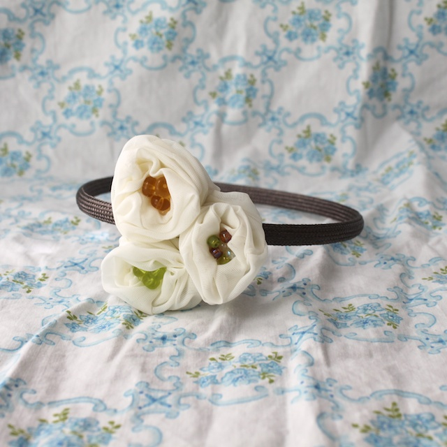 flower headband tutorial