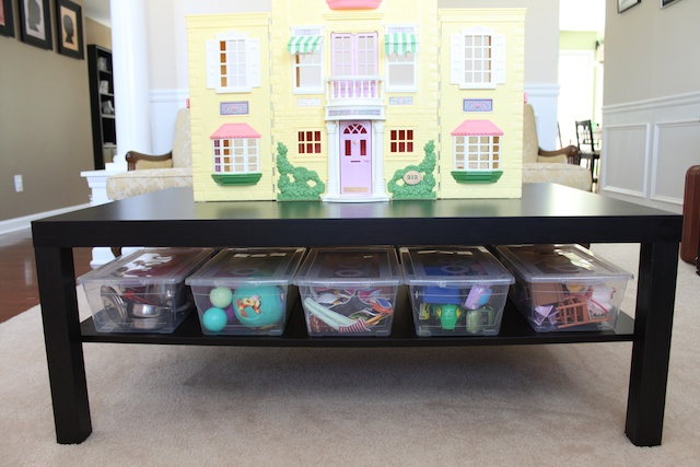 Simply modern mom btb tip 19 organizing toys for Organize small living room