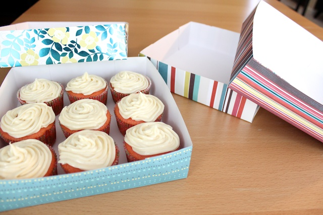 Simply Modern Mom Cupcake Delivery Box Pattern And Tutorial