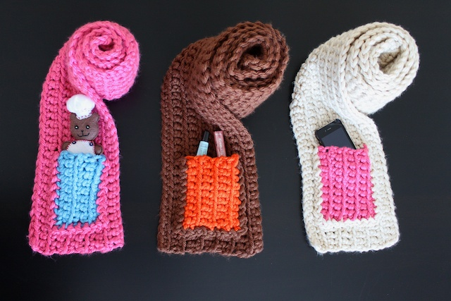 Simply Modern Mom Chunky Pocket Scarves