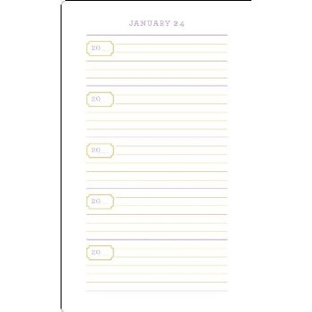 mom yearly journal
