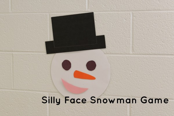 silly face snowman game