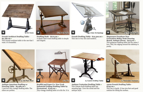 houzz drafting table