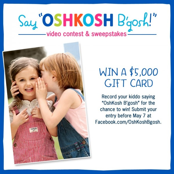 Say OshKosh B'gosh