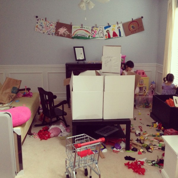 instagram messy house