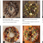houzz fall wreaths